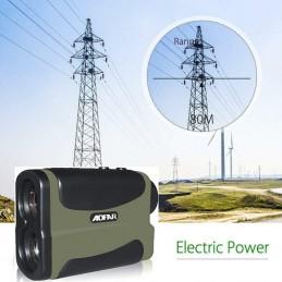 Mide torres de alta tensión Telemetro Laser medidor Velocidad, Distancia y Altura Rangefinder Aofar AF1000 alta precisión