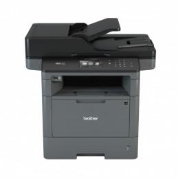 Impresora Multifuncional BROTHER MFP LASER MFCL5900DW B-N 42 PPM USB DUPLEX RED WiFi