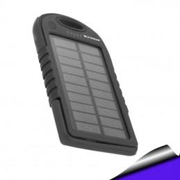 PowerBank Solar bateria auxiliar 5000 mAh azul Xtreme