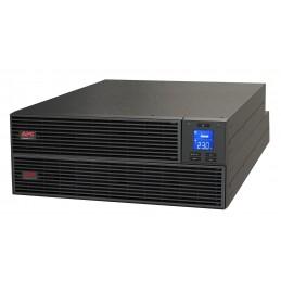 Respaldo de Energía APC UPS 6KVA 6000W Rack OnlineEasy + 4 Cajas Bateria Rieles
