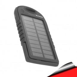 PowerBank Solar cargador outdor externo 5000 mAh rojo Xtreme