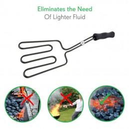 Vista Ejemplos de uso Encendedor Electrico de parrillas a carbon
