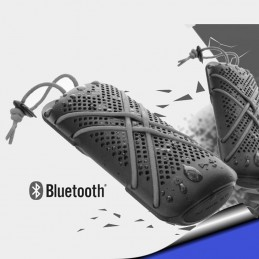 Parlante HYDRO Outdoor  premium Water Ressistant Bluetooth azul Extreme