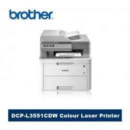 Impresora Multifuncional Brother DCP-L3551CDW Multifuncion Color
