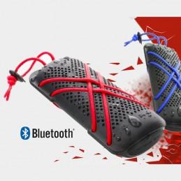 Vista de frente Parlante HYDRO Outdoor  premium Water Ressistant Bluetooth rojo Extreme