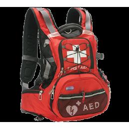 Mochila para Desfibrilador HeartSine Samaritan PAD y Kit de Emergencia