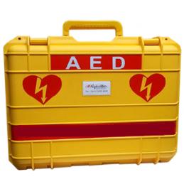 Maleta de seguridad IPX7 para desfibrilador y primeros auxilios