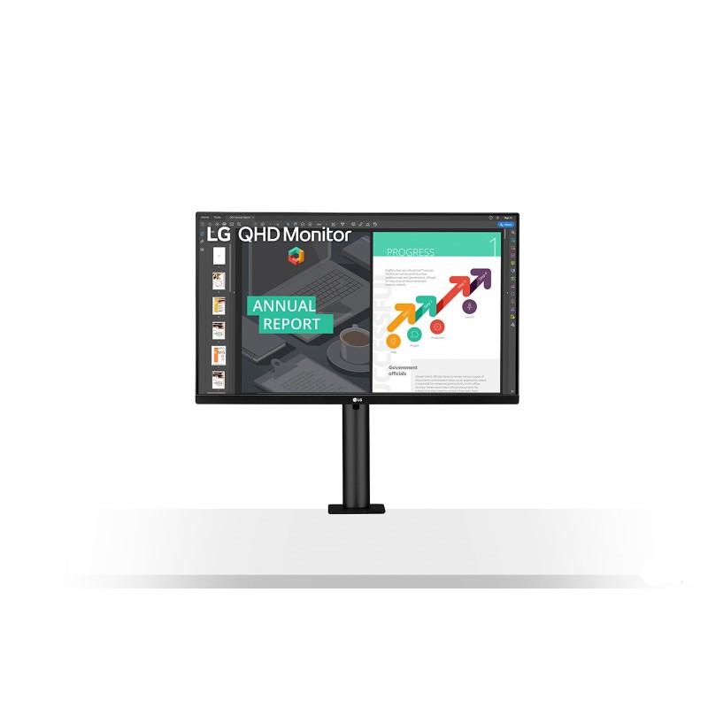 LG MT 27 IPS QHD 2560x1440 HDMI Disp.Port USB Ergonomico