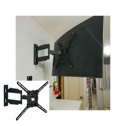 Vista trasera Soporte Pantalla TV 25 a 70 articulado Universal pantalla Curva Ecotek