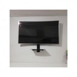 Vista frontal tv Soporte Pantalla TV 25 a 70 articulado Universal pantalla Curva Ecotek