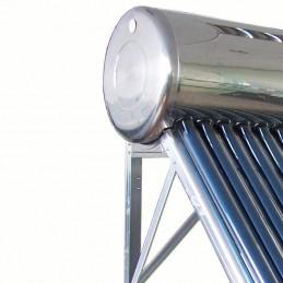 Calentador SOLAR 300L, 30 tubos, full Acero Inoxidable Estanque Expansión