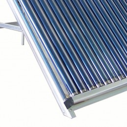 Calentador SOLAR 300L, 30 tubos, full Acero Inoxidable, Tubos Borosilicato