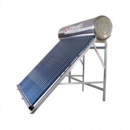 Calentador SOLAR 300L, 30 tubos, full Acero Inoxidable Lateral
