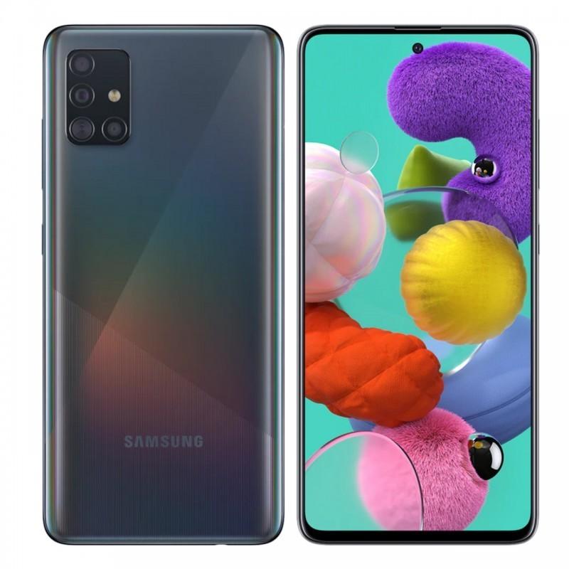 Smartphone Desbloqueado Samsung A51 128GB Black
